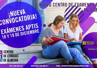 Somos nuevo centro de examenes APTIS