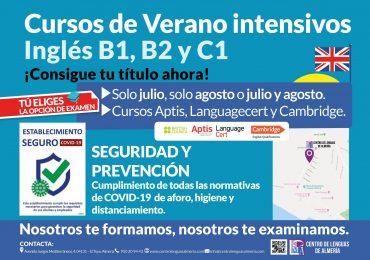 El Centro de Lenguas de Almería, primero de la provincia en realizar exámenes presenciales de inglés